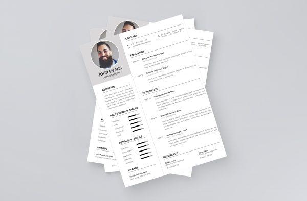 Attractive Resume Template 2021
