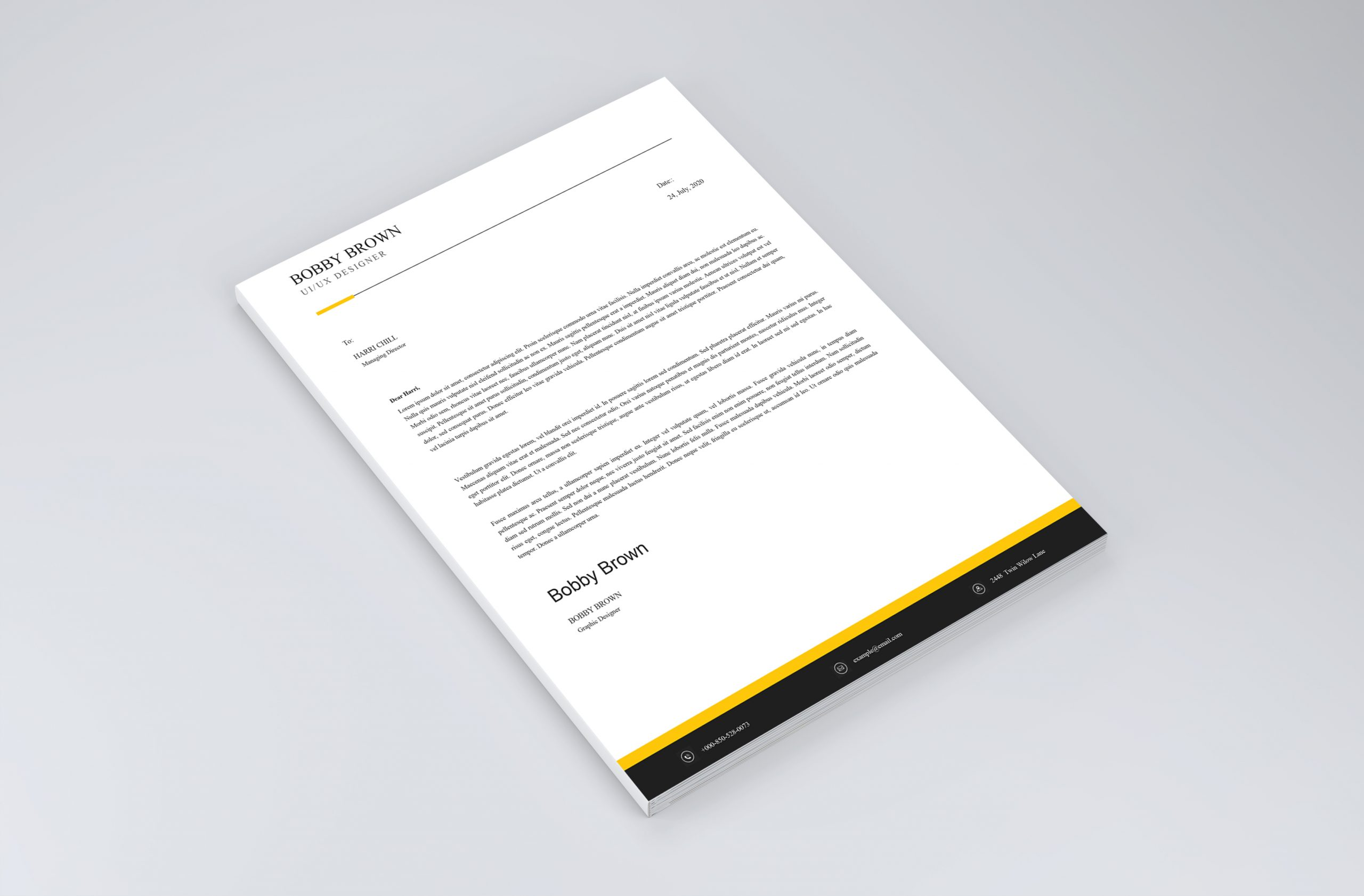 Best Simple Cover Letter Template 2021