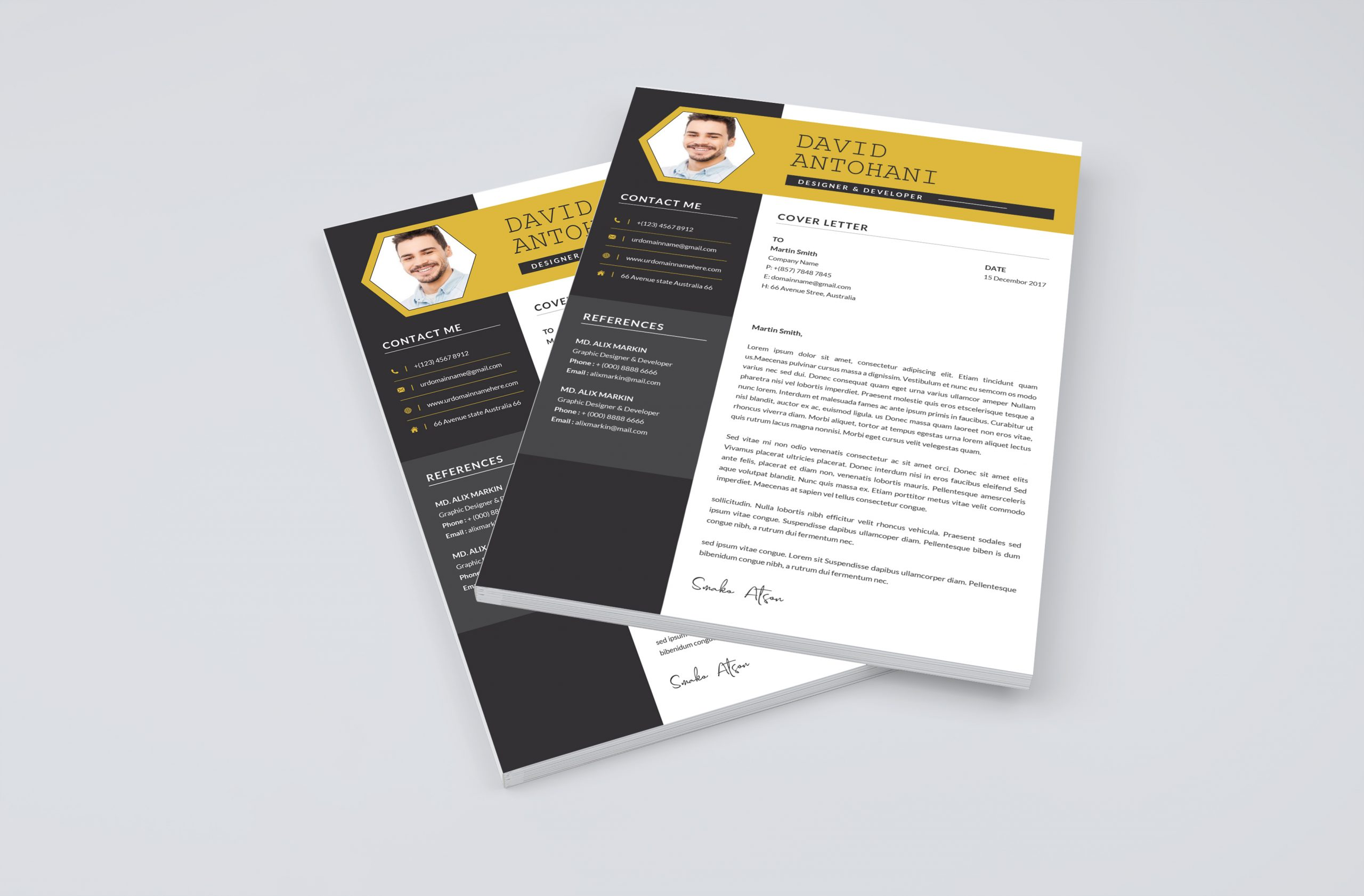 Creative Cover Letter Templates 2021
