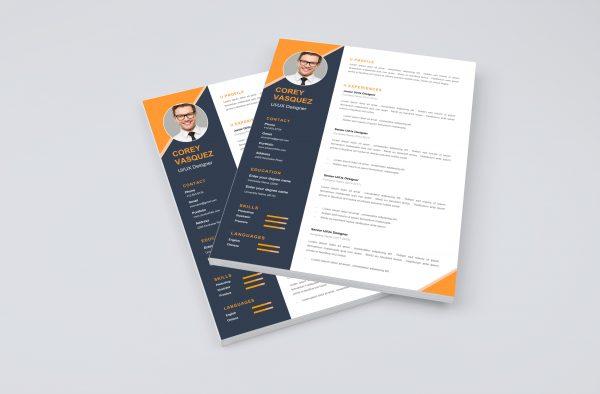 Creative Word Resume Template