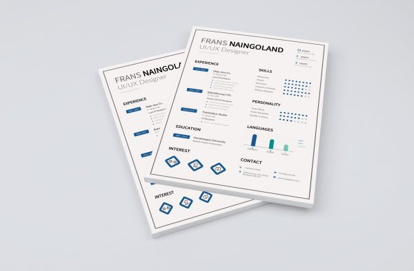 Job Resume / CV Word Template