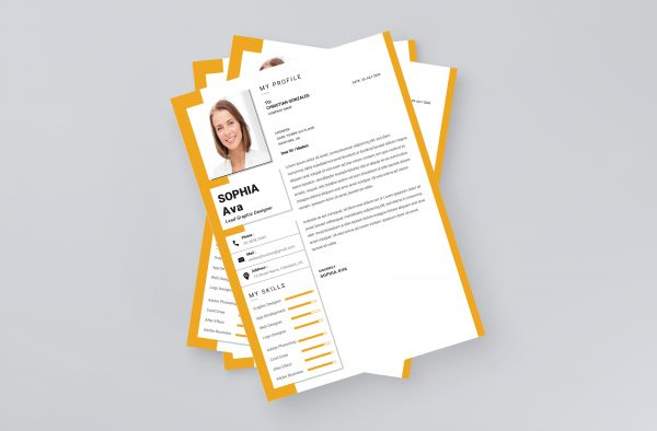 Modern Professional Cover Letter Template