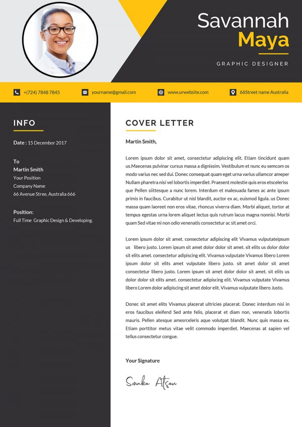 Ms Word Cover Letter Template