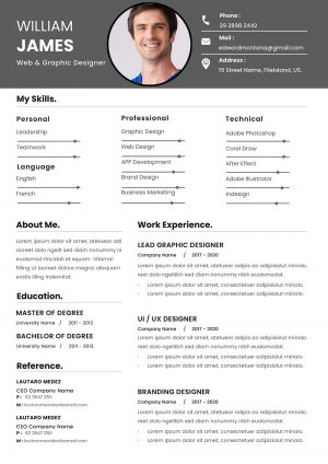Professional Clean Resume Template