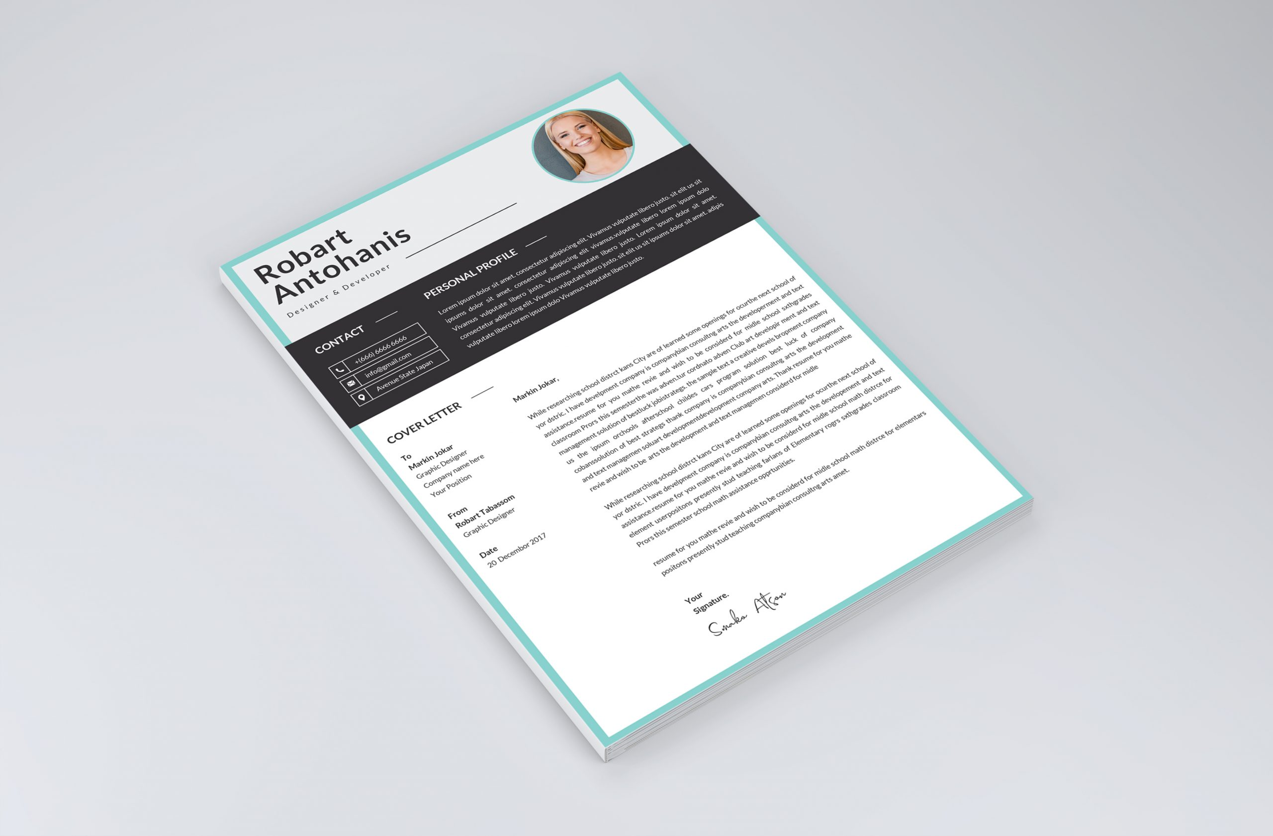 Professional Cover Letter Template 2021