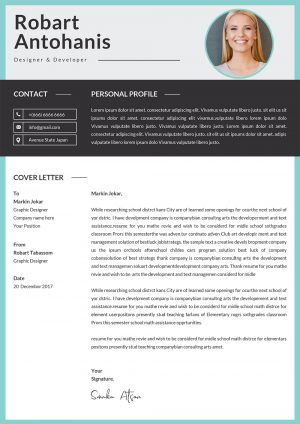 Professional Cover Letter Template 2021 to download