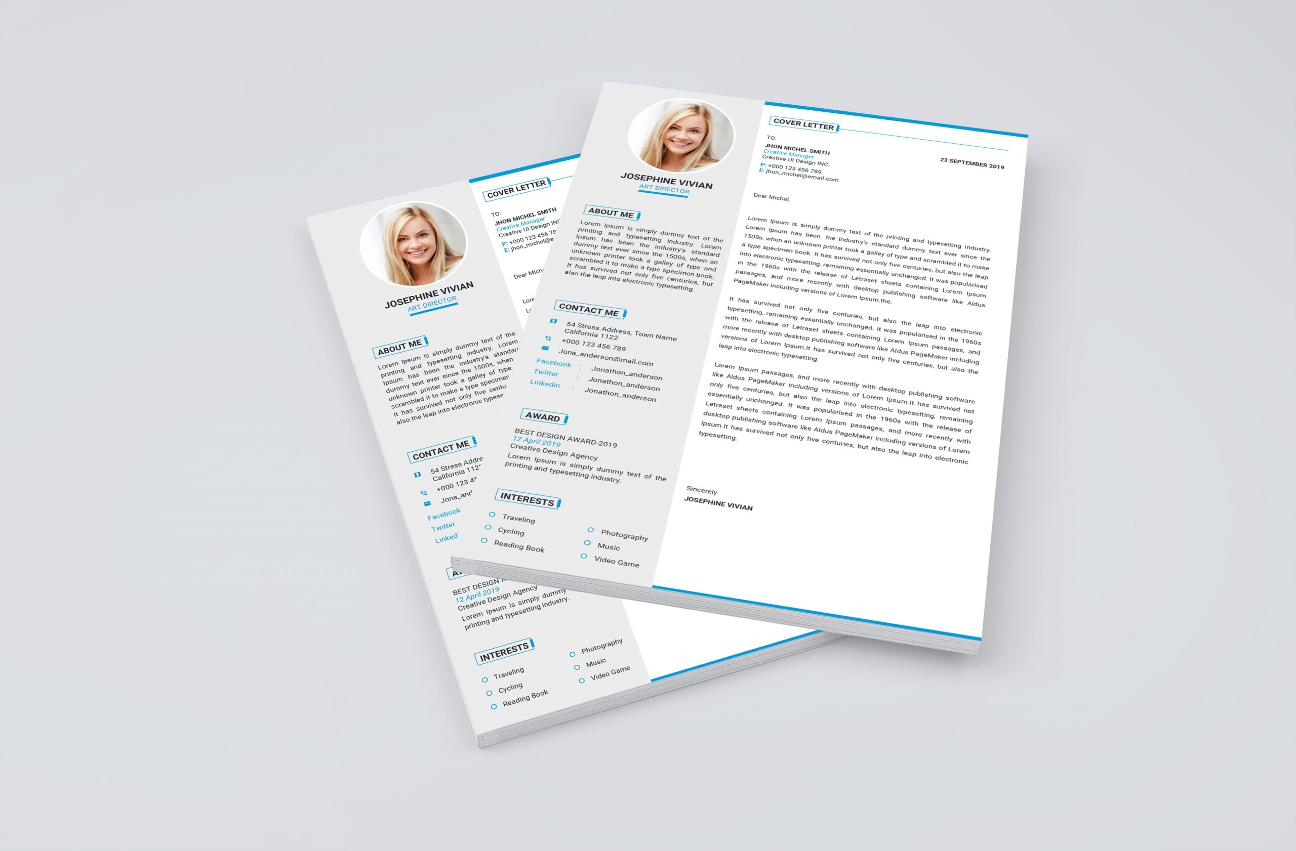Professional Cover Letter Template Word