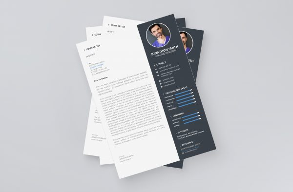 Resume Format Cover Letter Template