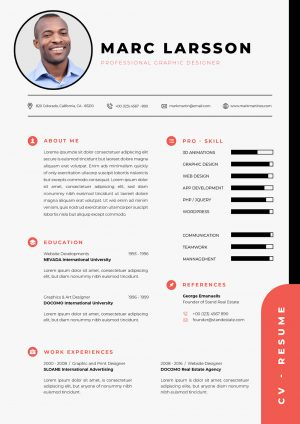 Simple & Professional CV Template