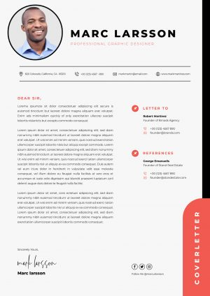 Simple & Professional Cover letter Template