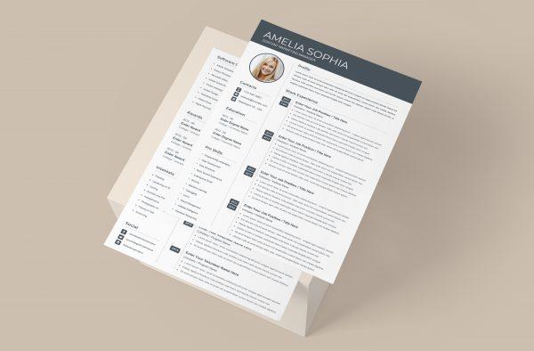 Clean Professional CV Template