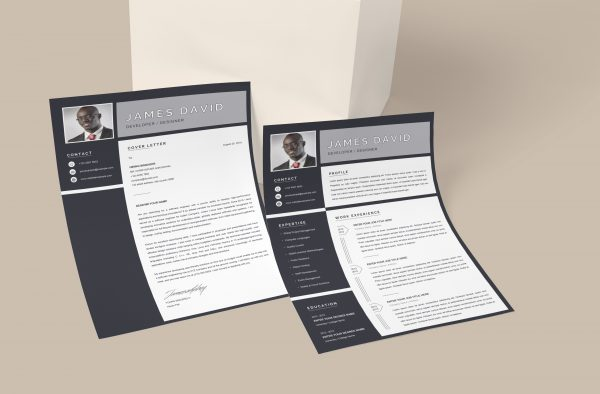 Cover Letter Template Minimalist Style