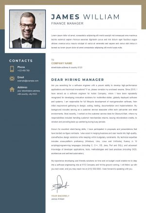 Cover Letter Template to Download