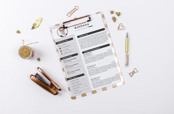 Creative Cover Letter Design