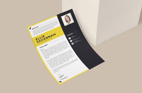 Creative Modern Cover Letter