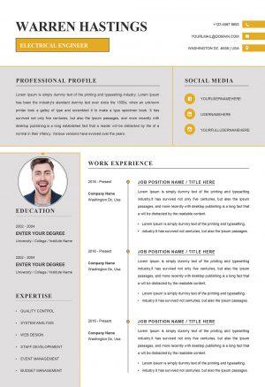 Modern Creative Resume Template