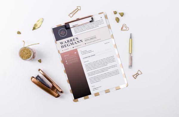 New Creative Cover Letter Templatea