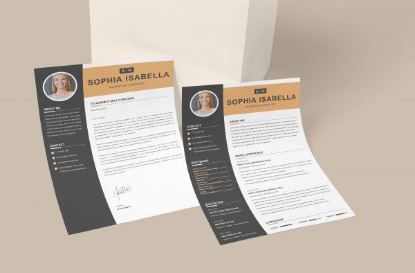Professional CV Cover Letter