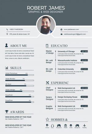 Simple CV Template