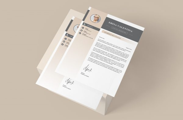Simple Modern Cover Letter Template