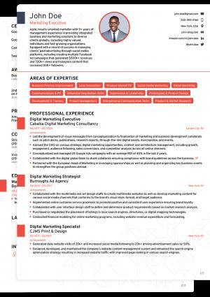 Word CV Novoresume Professional Template